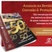 Anuncie na Revista Corrosão & Proteção