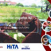 Curso de Inspetor N1 marcando presença na Bahia