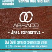 Visite o estande da ABRACO no 3º Seminário Espírito Santense de Corrosão