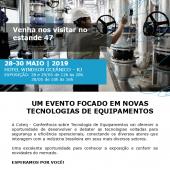 Coteq 2019 - Um evento focado em novas tecnologias de equipamentos
